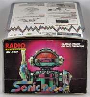 Sonic Friction Robot