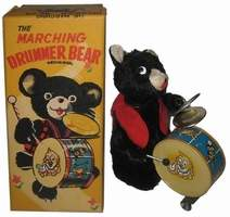 Marching Bear Drummer