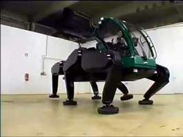 Walking Tractor Robot