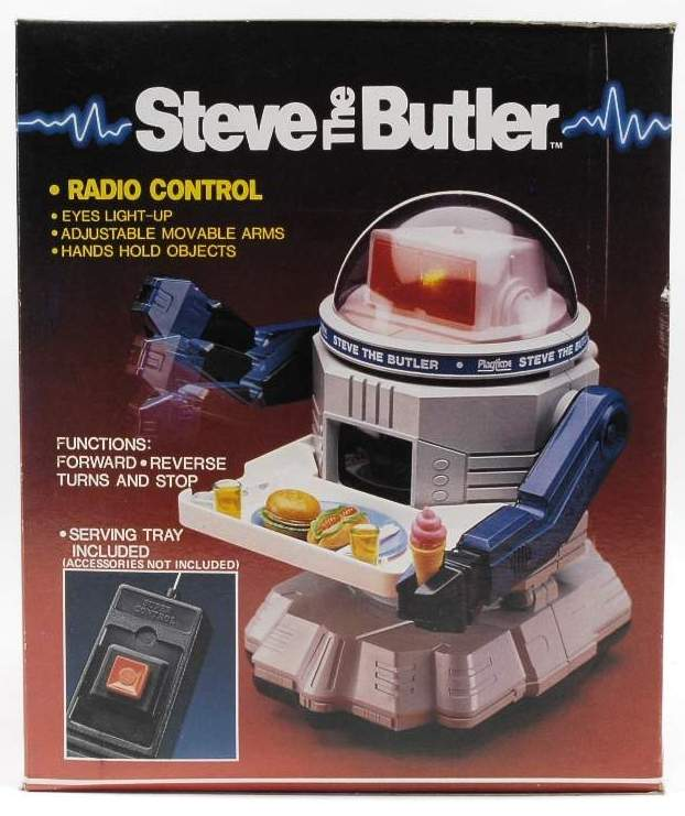 Steve The Butler Robot