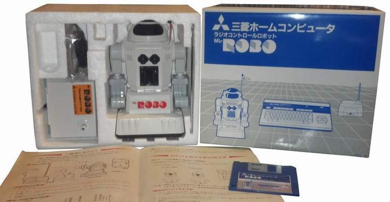MSX ML-ROBO Robot by Mitsubishi