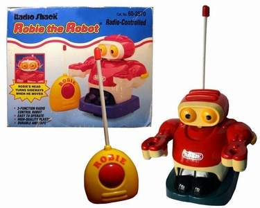 Robie Robot Red