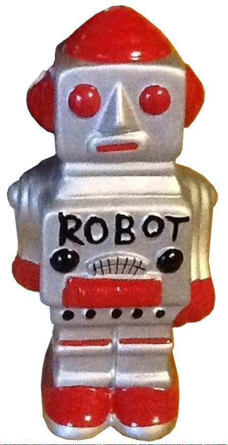 Ceramic Robot Bank