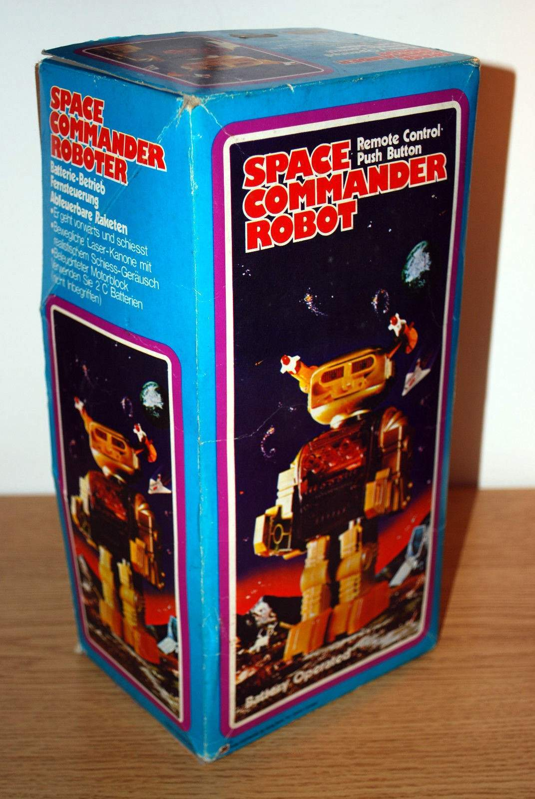 Space Commander Robot