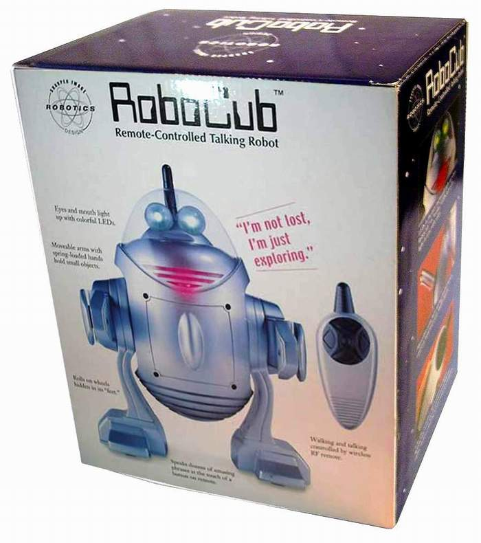 RoboCub Robot By Sharper Image