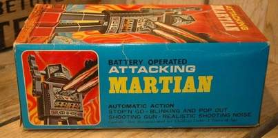 Attacking Martian Robot