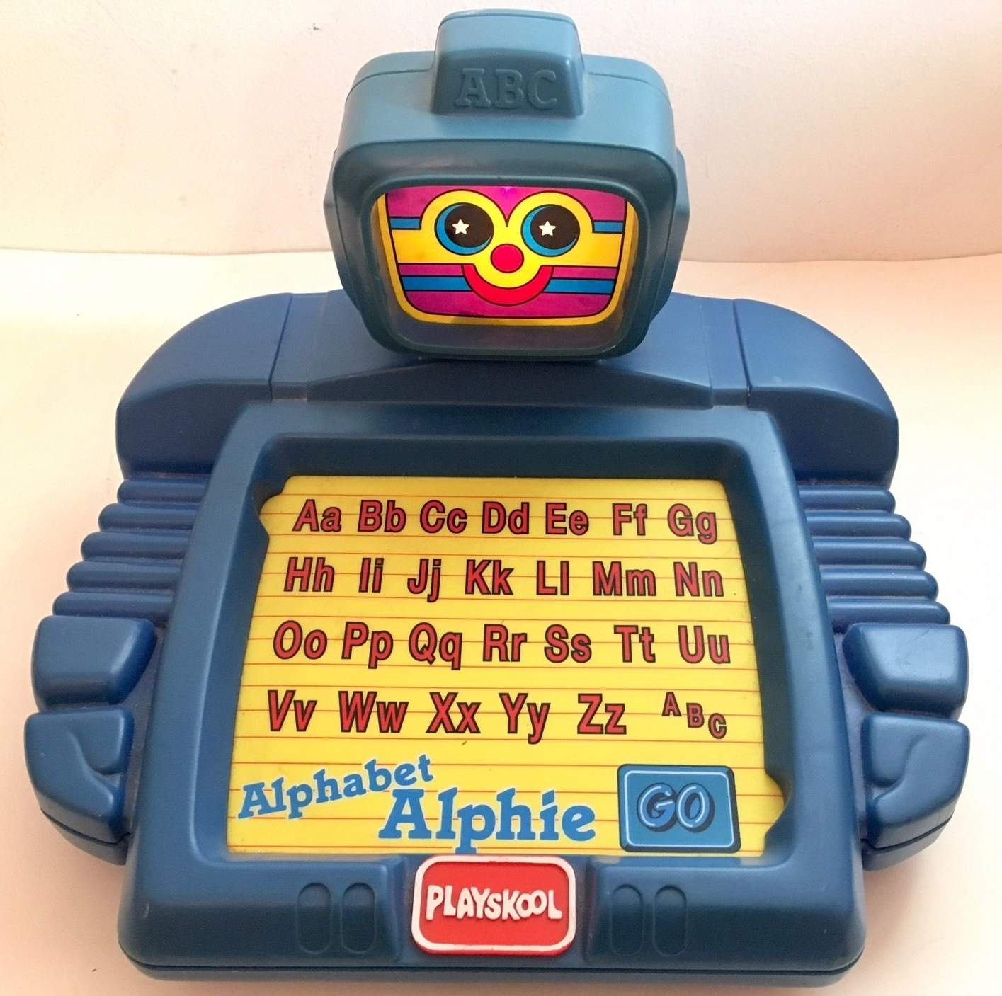 Talking Alphabet Alphie Robot